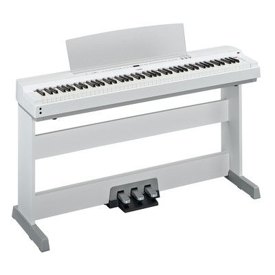 Image for Yamaha White Electric Piano P-255 from SHOP.CA