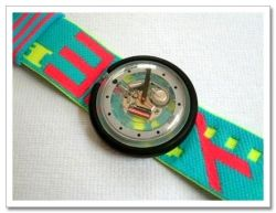 Interested in the retro Swatch watch? 80s kids surely remember those bright, colorful plastic watches that were everywhere during the decade....