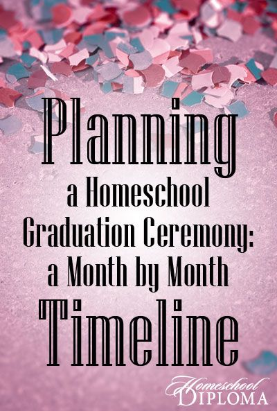 You need to plan everything from the venue to the food and from the guest list to the speeches. So just when and where do you start?  These are general guidelines for when to take care of the different tasks on the homeschool graduation checklist.