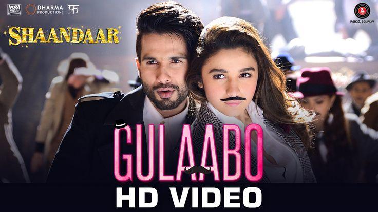 Gulaabo | Dance Party Song | Shaandaar | Alia Bhatt | Shahid Kapoor | Vi...