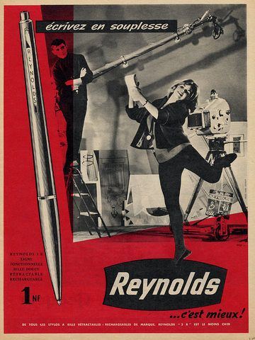 Reynolds Pen Advert 1965