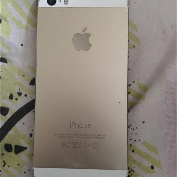 Iphone 5s with about 10 phone cases Iphone 5s Gold, T-Moblie, Unlocked iphone Other