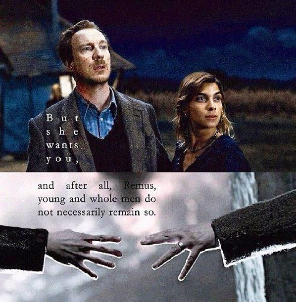 Lupin & Tonks | My love of Harry Potter....(: | Pinterest