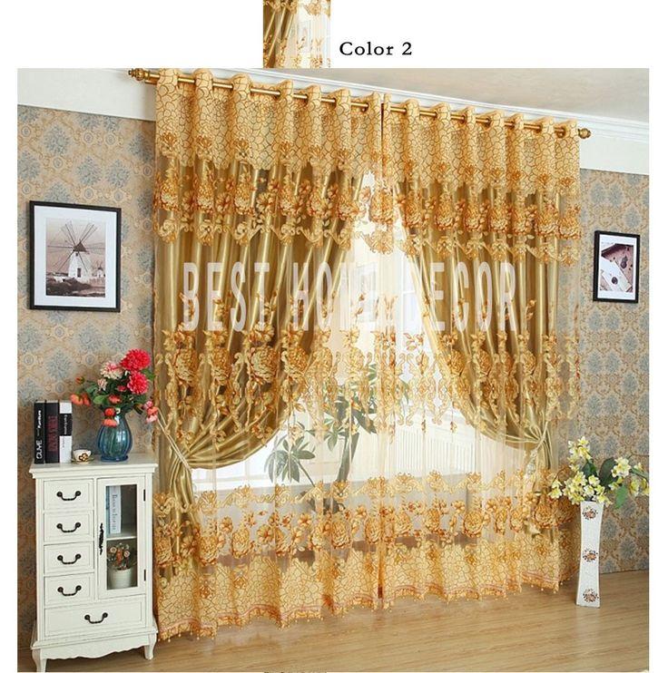Лучшие декоративные домашние портьеры на окна для гостиной спальни современные жалюзи тюлевые занавескикупить в магазине UDECORнаAliExpress