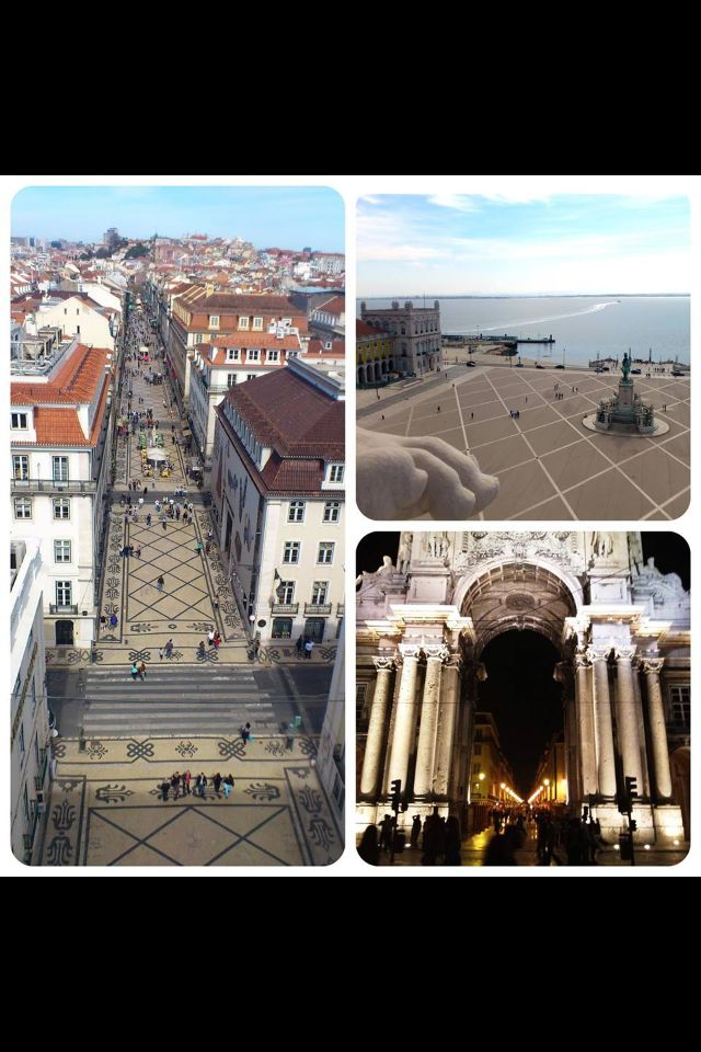 !...Now open...! New view from the new lift on the St Augusta Arch - downtown Lisbon !