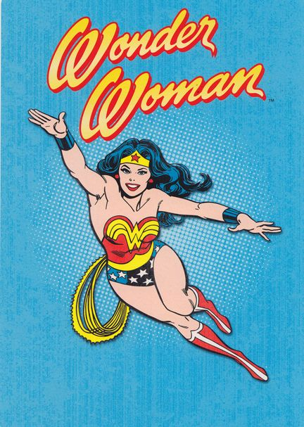 I don't have to be Wonder Woman...but I WANT to!