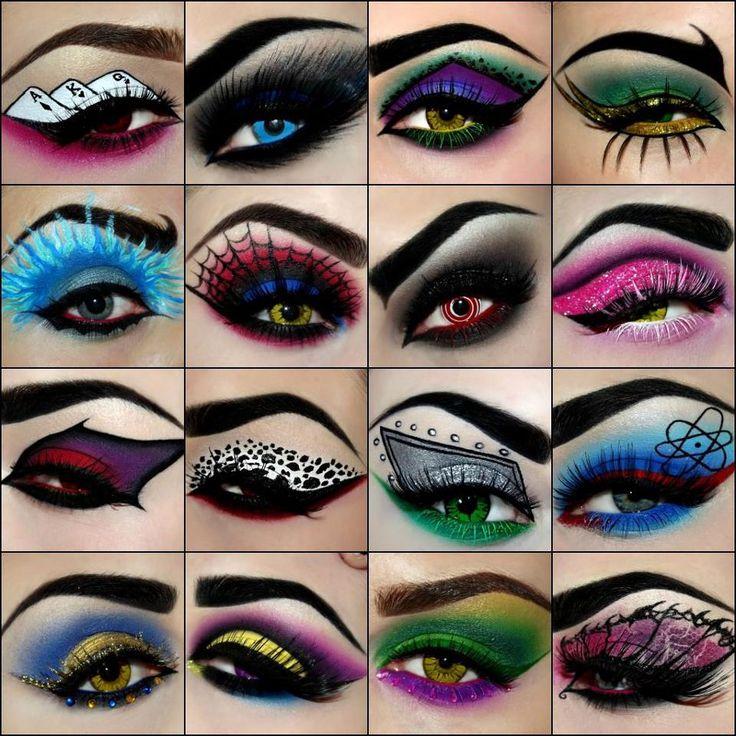 Beautiful Devil Eye Makeup Halloween Photos - harrop.us - harrop.us