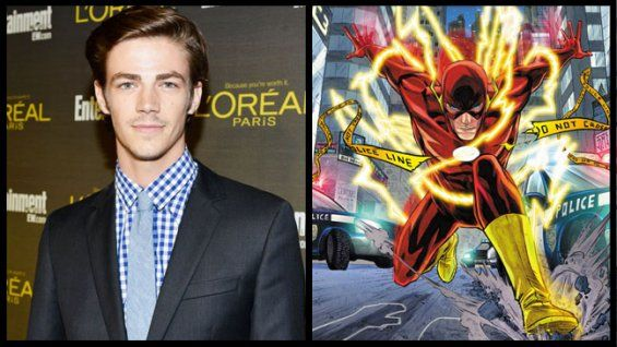 Grant Gustin Cast as The Flash in CW's Arrow And Possible Spinoff