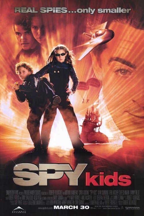 Watch->> Spy Kids 2001 Full - Movie Online