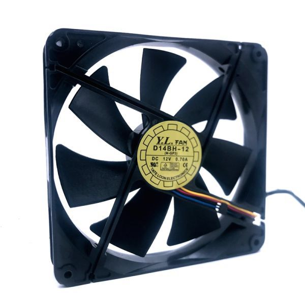 Us 8 99 D14bh 12 140mm Cooling Fan 140x140x25mm 4 Wire Pwm
