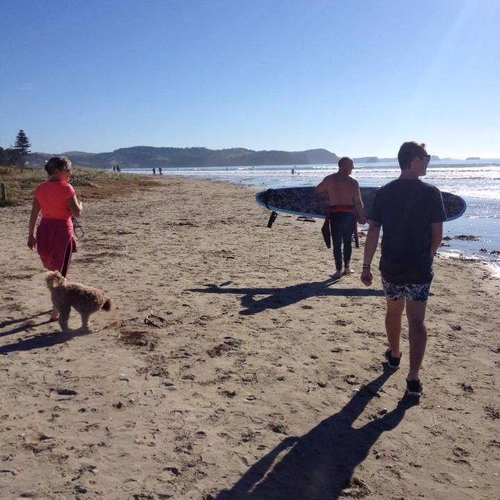 Hometown beach  New Zealand  orewa