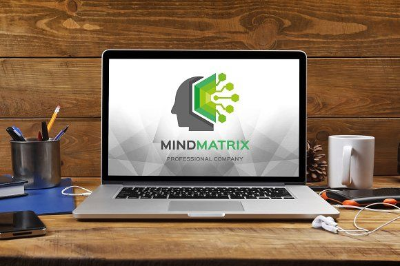 Mind Matrix Logo by tkent on @creativemarket