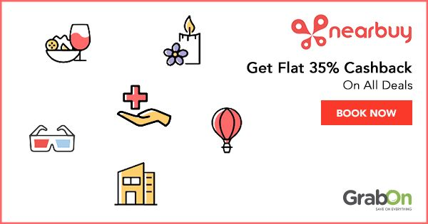 Find out what's #nearbuy with this @GrabOnIn  Exclusive Offer!  #deal #DealsAndSteals #offers #coupon #india