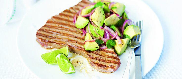 Grilled Tuna Steaks on Pinterest | Grilled Tuna, Marinated Tuna Steak ...