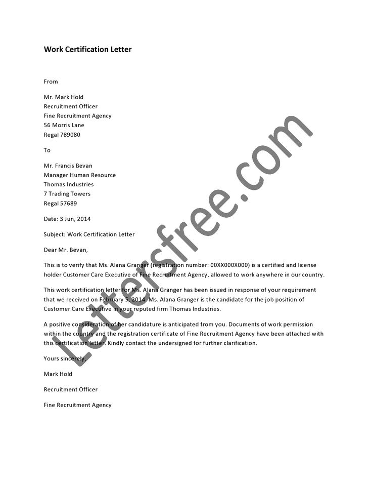 25 best ideas about Official Letter Sample – Official Letter