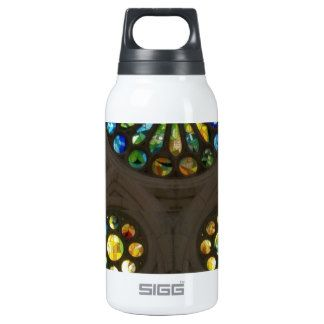 Church Cathedral Christ Wall Stained Glass Deco 99 10 Oz Insulated SIGG Thermos Water Bottle