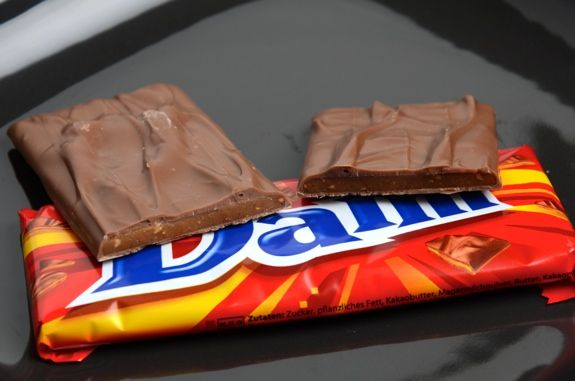 Daim chocolate bar