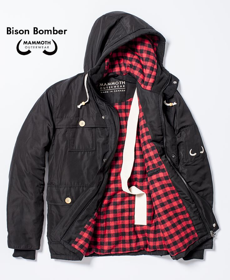 The Bison Bomber available through our #Kickstarter campaign at https://www.kickstarter.com/projects/995157698/mammoth-outerwear