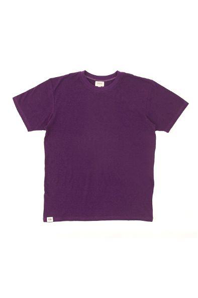 RCM CLOTHING / T-SHIRT BASIC   BLACKBERRY  Sustainable Hemp Wear, 55% hemp 45% organic cotton jersey http://www.rcm-clothing.com/