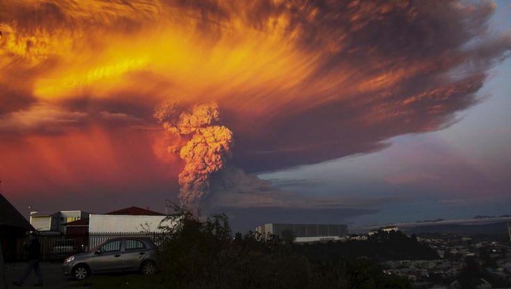 Ausbruch des Vulkan Calbuco