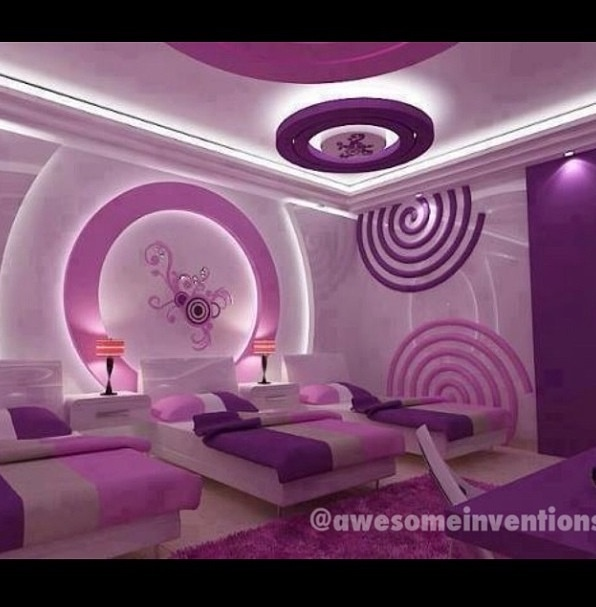 Girls Bedroom Purple 37 best white & lavander bedrooms images on pinterest | purple