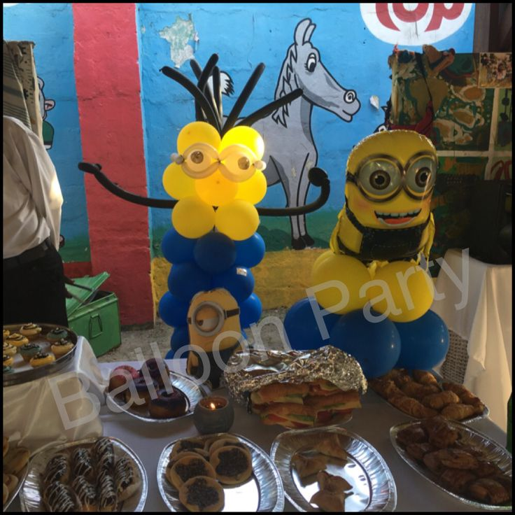 Minion birthday theme