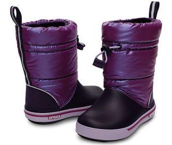 Crocs Kids Boots Winter 2014!