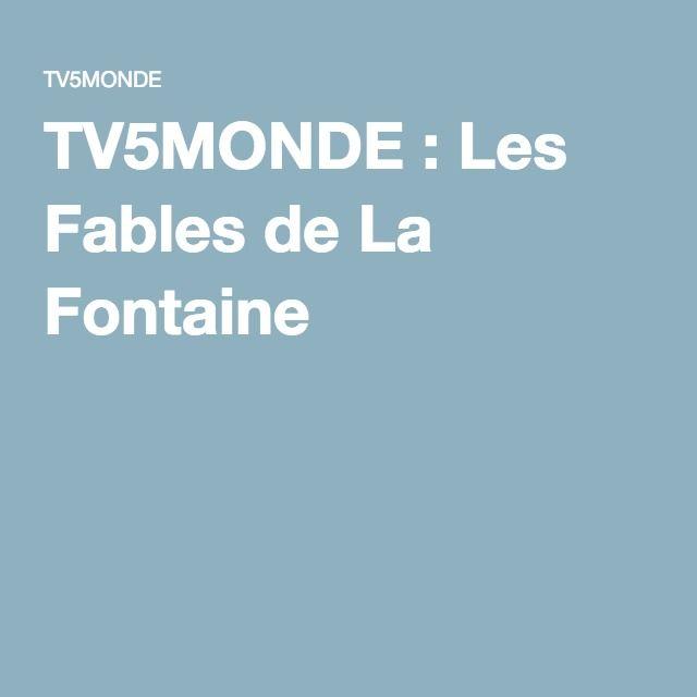 TV5MONDE : Les Fables de La Fontaine