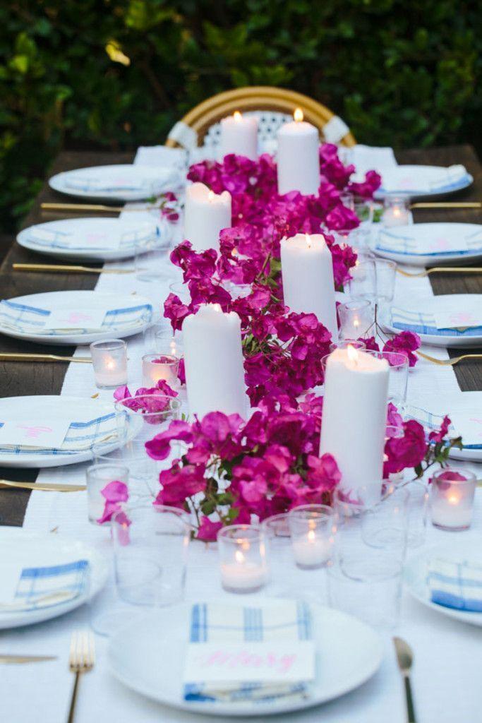 Sommerunterhaltung: Eine lässige griechische Dinnerparty   – Home Decor