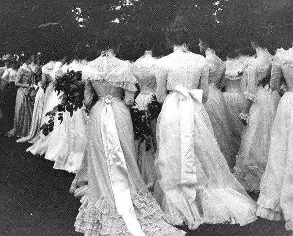 Выпускной, 1895 г. // Graduation, 1895