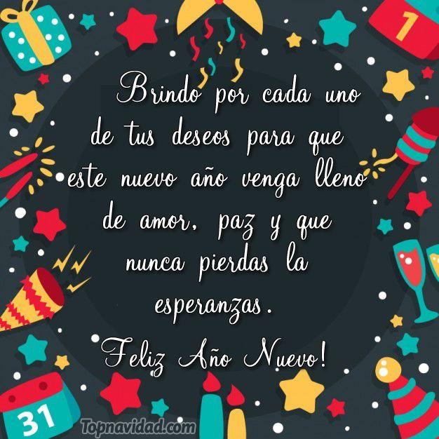 Saludos Felicitaciones Mensajes De Año Nuevo Deseos De