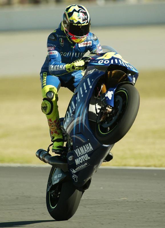 Valentino Rossi (Ansa)