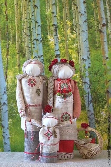 """Народные куклы ручной работы. Ярмарка Мастеров - ручная работа Семейный оберег """"Маков цвет"""". Handmade."""