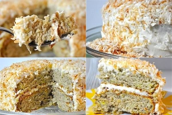 Banana Cake with Coconut Cream Cheese Frosting | One Green Planet