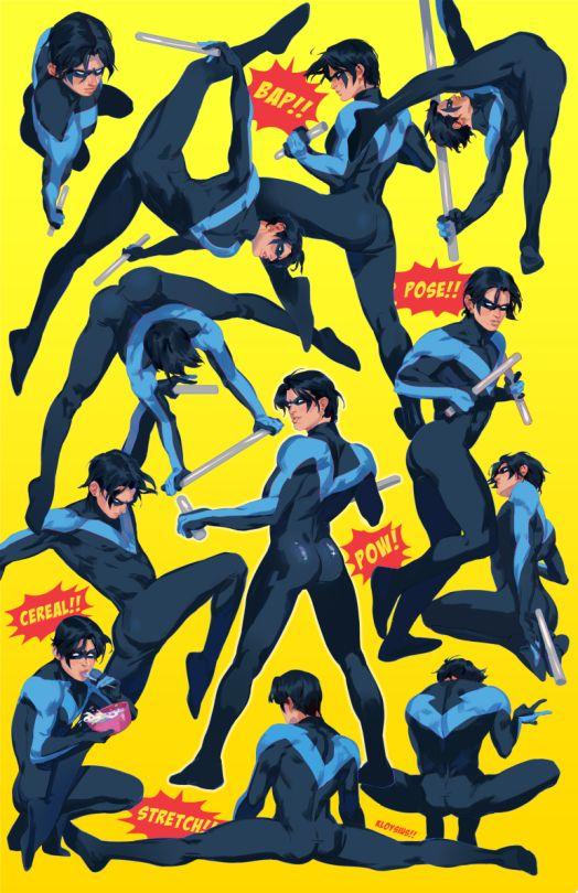 Nightwing. Dick Grayson. <3                                                                                                                                                     Mehr