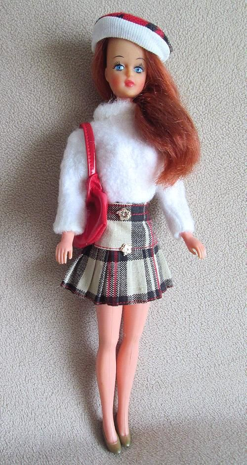 Miss LiliLedy Tressy Doll Mexican doll from the 70's.