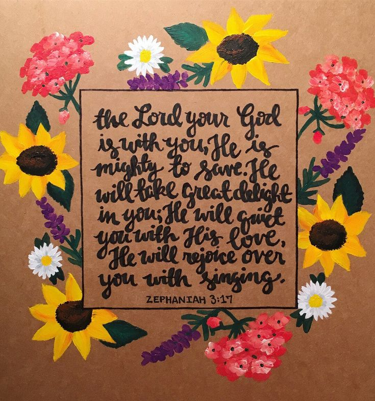 Excited to share the latest addition to my #etsy shop: Custom Verse painting / floral canvas bible verse