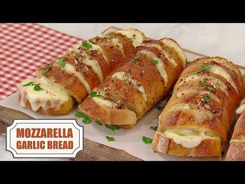 Mozzarella Garlic Bread - In the Kitchen with Stefano Faita
