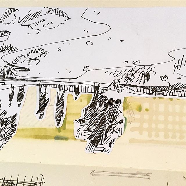Up side down. #tb de sketch antiguo. #moleskine #marcadores #sketch #sketch_arq #arqsketch #arch_cad #arch_more #mastersketch #archisketcher #dibujos