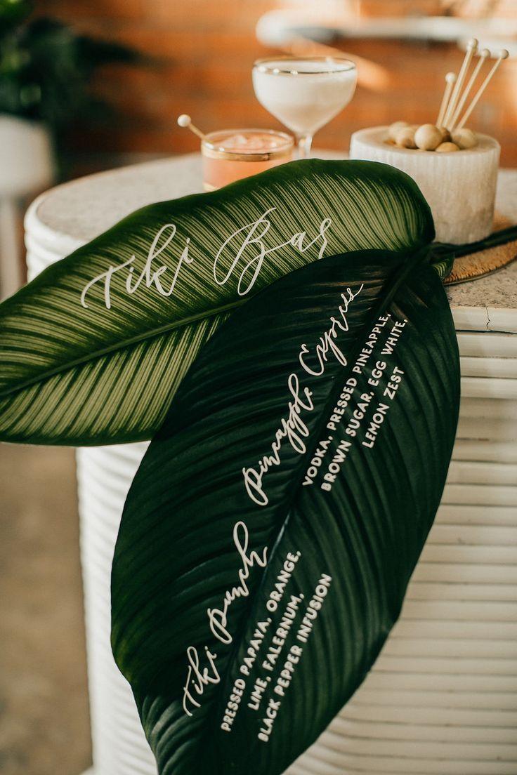 Wedding decorations white november 2018  best Tropical Island Weddings images on Pinterest  Tropical