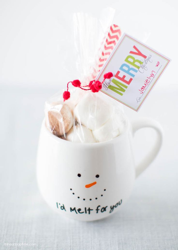 DIY Painted mug gift idea - get the instructions at iheartnaptime.com