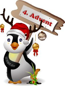 4.Advent Bild pinguine-0065.gif kostenlos auf deiner Homepage einbinden oder als Grußskarte versenden | 123gif.de