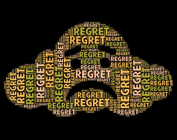 """Regret is one of many ingredients in """"grief-stew"""". Dealing with regrets after the loss of your loved one is difficult but necessary in the healing process."""