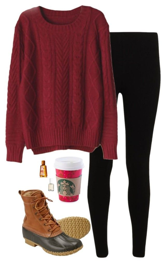 """""""Welcome Winter"""" by sc-prep-girl ❤ liked on Polyvore featuring L.L.Bean and Essie"""