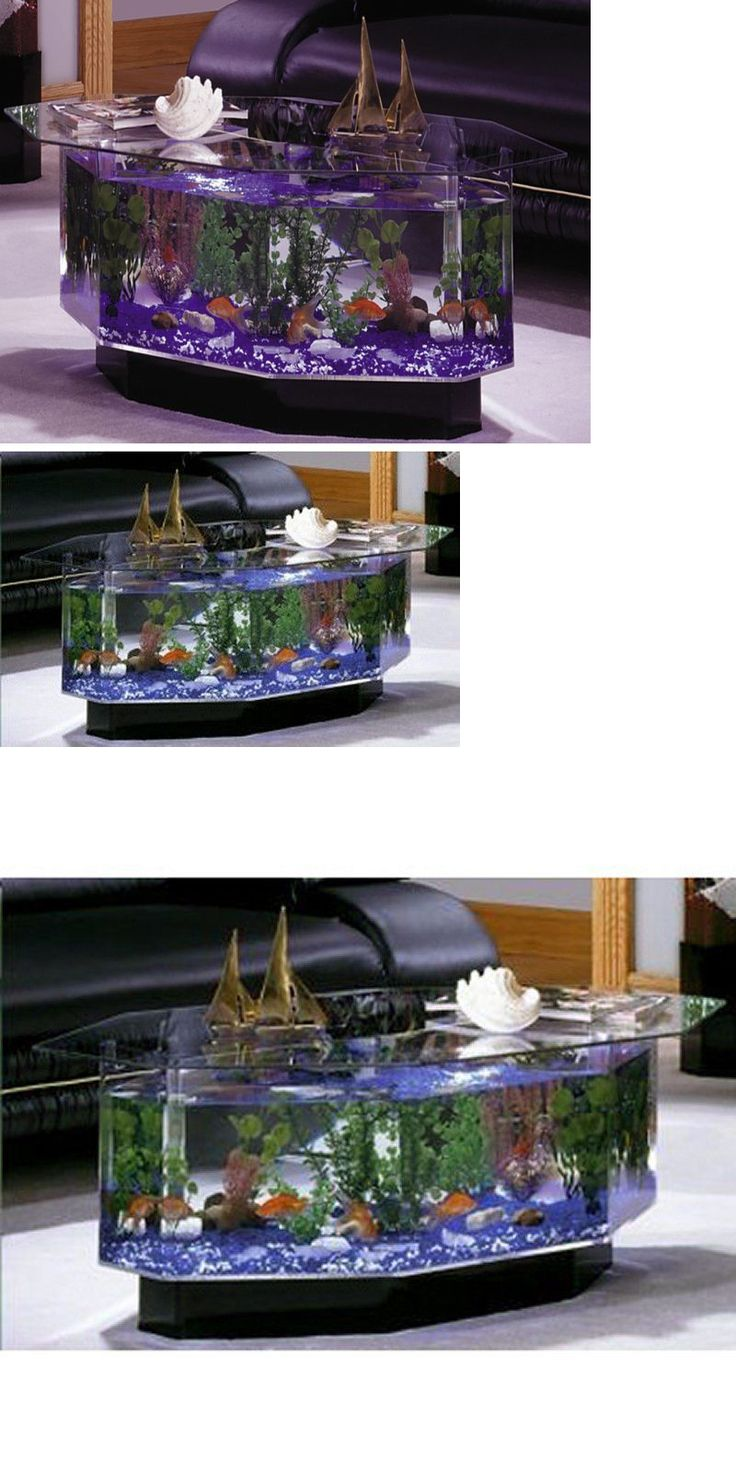Aquarium Living Room Decor: 15 Must-see Fish Tank Stand Pins