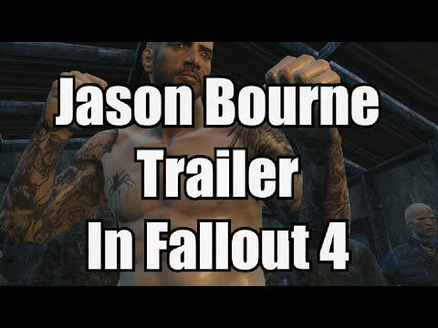 Jason Bourne 5 Trailer Recreated in Fallout 4 Video Game
