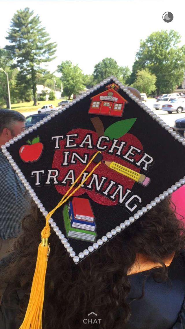 17 Best Ideas About Teacher Graduation Cap On Pinterest