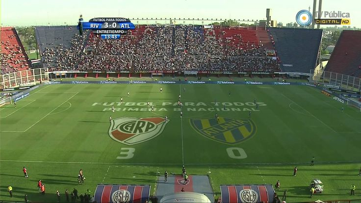 River vs Atlanta (7-1) - Partido completo