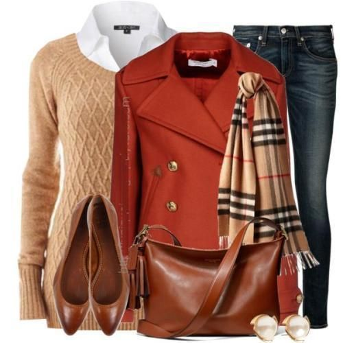 burberry outfit, ootd, sweater, scarf