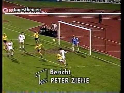 VfB Stuttgart - Borussia Dortmund DFB-Pokal Halbfinale 1985/86